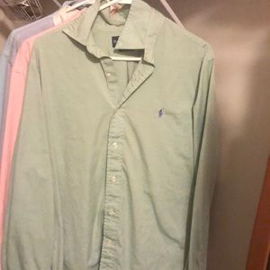 Polo Ralph Lauren Button Down Mens Dress Shirts,4